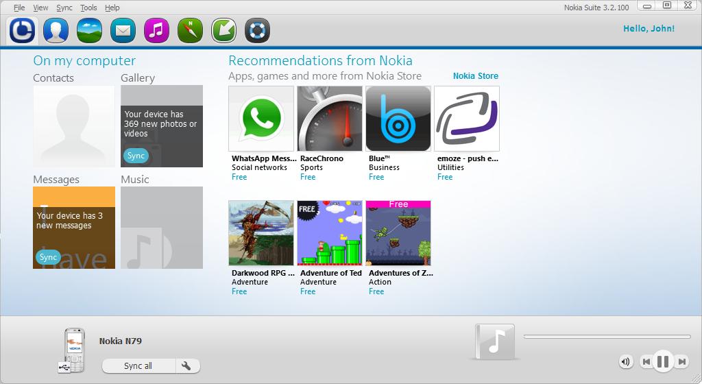 Nokia pc suite free download.